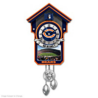 Chicago Bears Cuckoo Clock