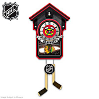 Chicago Blackhawks® Cuckoo Clock