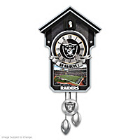 Oakland Raiders Cuckoo Clock