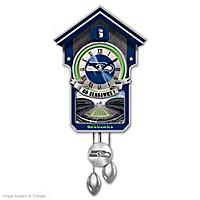 Seattle Seahawks Cuckoo Clock