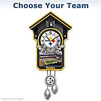 NFL Cuckoo Clock