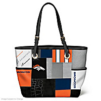 For The Love Of The Game Denver Broncos Tote Bag