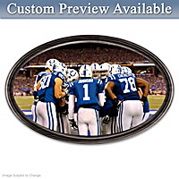 Going The Distance Colts Personalized Wall Decor