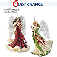 Wings Of Grace & Blessings Of The Heart Ornament Set
