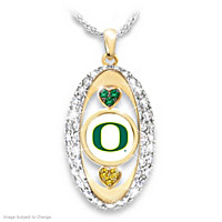 For The Love Of The Game University Of Oregon Pendant
