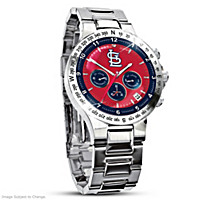 St. Louis Cardinals Men's Collector's Watch