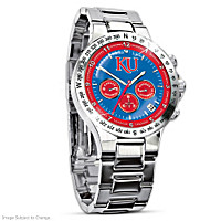 Kansas Jayhawks Men's Collector's Watch