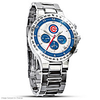 Chicago Cubs Men\'s Collector\'s Watch