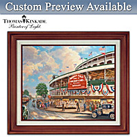 Wrigley Field Memories And Dreams Personalized Wall Decor