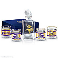 Minnesota Vikings Decanter Set