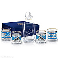 Detroit Lions Decanter Set