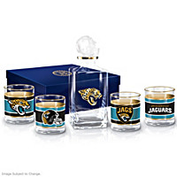 Jacksonville Jaguars Decanter Set