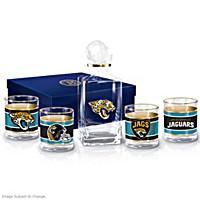 Jacksonville Jaguars Decanter Set