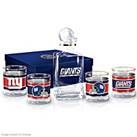 New York Giants Decanter Set