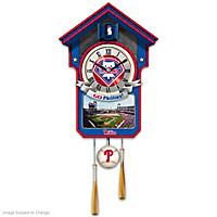 Philadelphia Phillies Cuckoo Clock