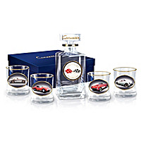 Corvette Multi-Generations Decanter Set