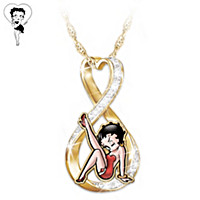 Forever Betty Boop Pendant Necklace