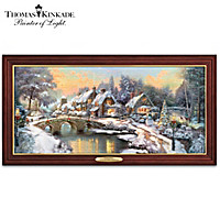 Thomas Kinkade Home For The Holidays Wall Decor
