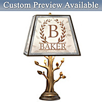 Family Tree Personalized Lamp