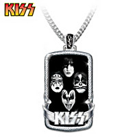 KISS Pendant Necklace
