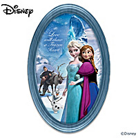 Disney FROZEN Collector Plate