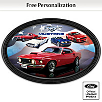 American Muscle: Ford Mustang Personalized Collector Plate