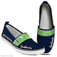 Steppin\' Out With Pride Seahawks Women\'s Shoes