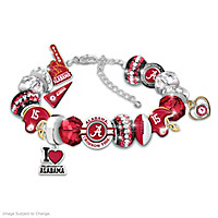 Fashionable Fan Crimson Tide Bracelet