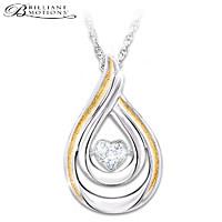Heartfelt Moments Diamond Pendant Necklace