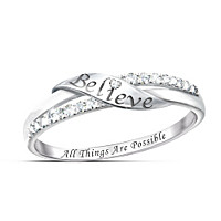 Believe Diamond Ring