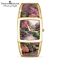 Thomas Kinkade Legacy Of Light Women's Watch
