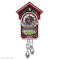 Arizona Cardinals Cuckoo Clock