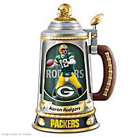 Aaron Rodgers Collector\'s Tribute Stein
