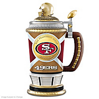 San Francisco 49ers Collector\'s Stein