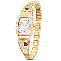 Two Hearts, One Love Women's Watch