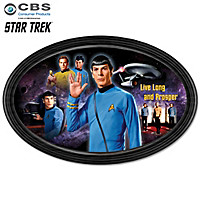 STAR TREK Commemorative Collector Plate