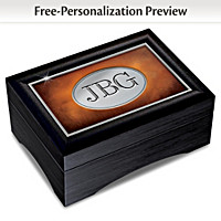 Grandson's Personalized Keepsake Box