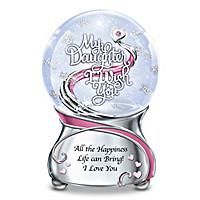 My Daughter, I Wish You Glitter Globe