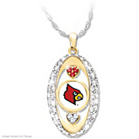 For The Love Of The Game Louisville Pendant Necklace
