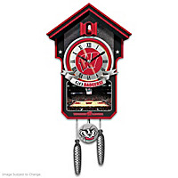 Wisconsin Badgers Cuckoo Clock