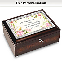 Daughter-In-Law, Never So Blessed Personalized Music Box