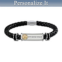 Firefighter\'s Brotherhood Of Honor Personalized Bracelet