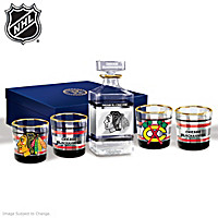 Chicago Blackhawks® Legacy Decanter Set