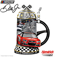 Dale Earnhardt Jr. Legendary Career Commemorative Stein