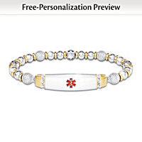 Medical Alert Personalized Bracelet