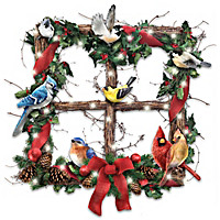 Merry Woodland Melodies Wreath