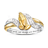 Faith's Embrace Diamond Ring