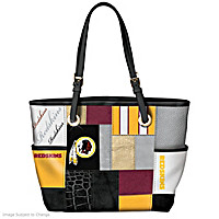 For The Love Of The Game Washington Redskins Tote Bag