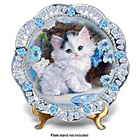 Blue-Eyed Beauty Collector Plate