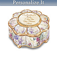 My Granddaughter, I Love You Personalized Music Box